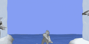 Hra - Yeti Sports 3
