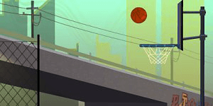 Hra - Tricky Hoops Challenge