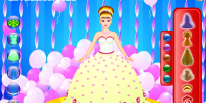 Hra - Barbie Cake
