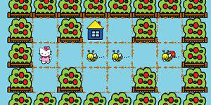 Hra - Včely v záhradke