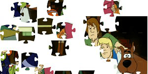 Hra - Scooby Doo 3 Puzzle