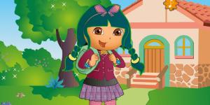 Hra - Dora ide do školy