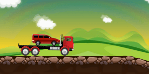 Hra - Car Tranporter 2