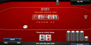 Hra - Texas Hold'Em Poker Heads Up