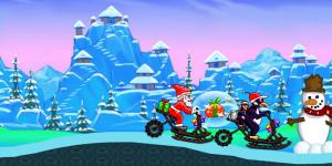Hra - Santa Snow Ride