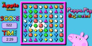 Hra - Peppa Pig Bejeweled