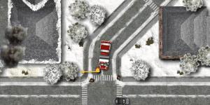 Hra - Winter Firefighters Truck 2
