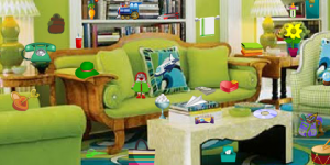 Hra - Green Room Hidden Objects
