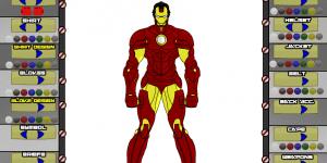 Hra - Superhero Creator