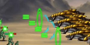 Hra - Humaliens Vs Battle Gear 2
