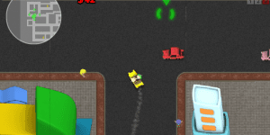 Hra - Sim Taxi Bubble City