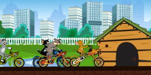 Hra - Toms BMX Race