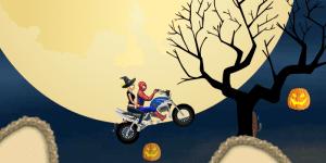 Hra - Spiderman Halloween Racing