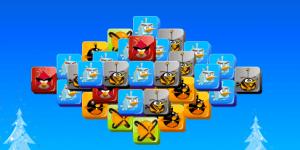 Hra - Angry Birds Mahjong