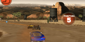 Hra - Desert Drift 3D