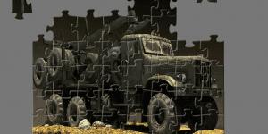 Hra - Russian Truck Jigsaw