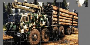 Hra - MAZ Truck Jigsaw