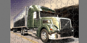 Hra - Volvo Truck Puzzle