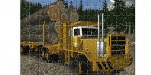 Hra - Extreme Trucker Jigsaw