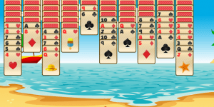 Hra - Tropical Spider Solitaire