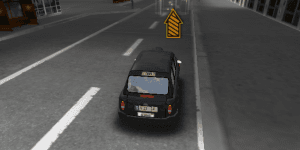 Hra - English Cab 3D Parking