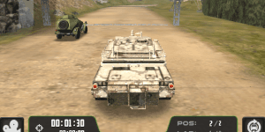 Hra - Warrior Tank 3D Racing