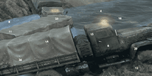 Hra - Mud Trucks Hidden Numbers