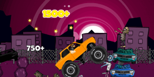 Hra - Monster Truck Zombie Crusher