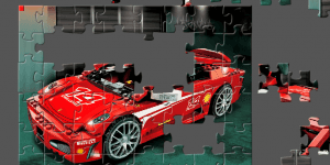 Hra - Lego Racers Puzzle