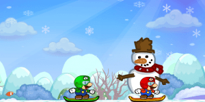 Hra - Mario Skiing Stars