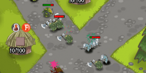 Hra - Hut Defense 4
