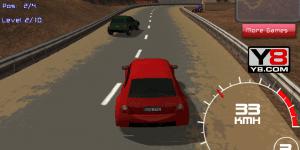 Hra - Racing Red 3D