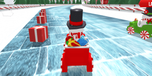 Hra - Snowman Christmas Racing