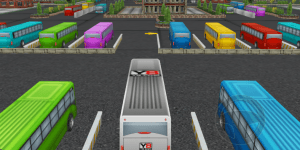 Hra - Bus Parking 3D World