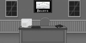 Hra - Black and White Escape Office