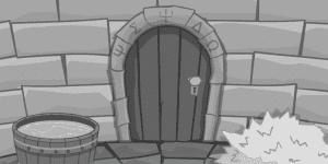 Hra - Black and White Escape - Castle