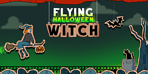 Hra - Halloween Witch Fly