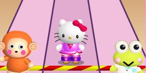 Hra - Hello Kitty preteky na korčuliach