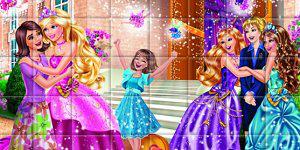 Hra - Barbie skladačka