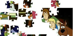 Hra - Scooby Doo 3 Puzzle