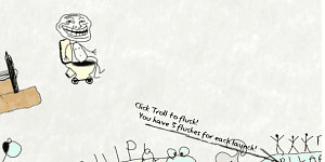 Hra - Trollface Launch 2
