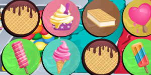 Hra - Ice Cream Memory Game