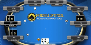Hra - Poker Listing
