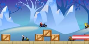Hra - Super Heroes Race 3