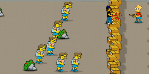 Hra - Bart Simpson Defense