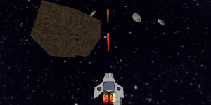 Hra - Asteroid Alley