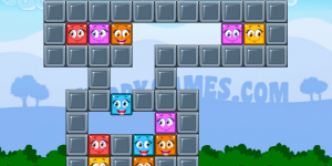 Hra - Sticky Blocks Mania