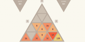 Hra - Triangular 2048
