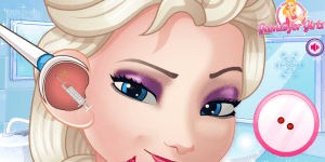 Hra - Elsa Ear Doctor