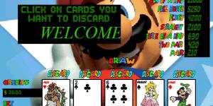 Hra - Mario Poker